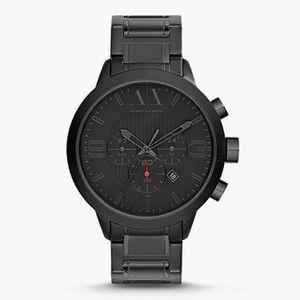 Armani Exchange Watch Black AX1277